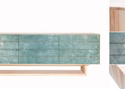Sideboard: Green Details