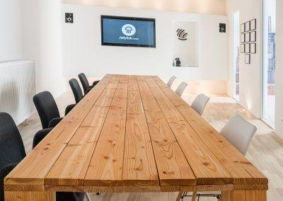 Ausstattung des Besprechungsraum