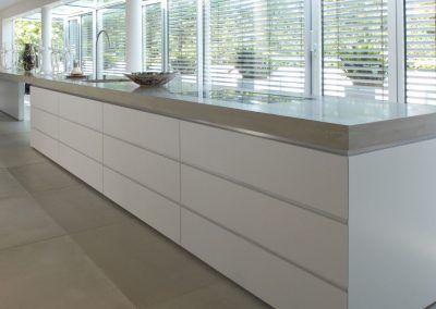 Küche: Beton Weiß in Loft