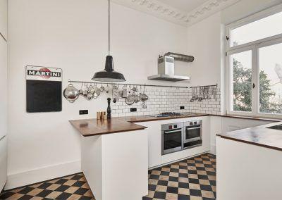 Küche in Altbauwohnung