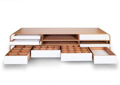 Sideboard: White geöffnet