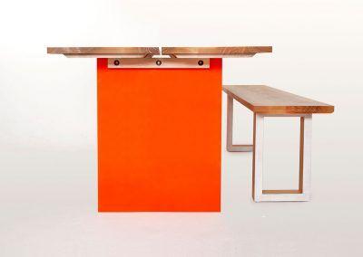 Tisch OrangeDesk
