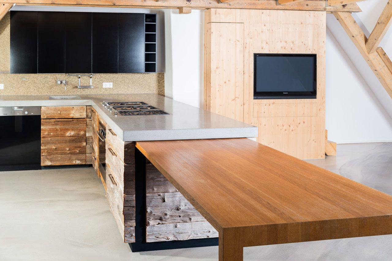kche vom schreiner top kueche vom schreiner in weiss mit. Black Bedroom Furniture Sets. Home Design Ideas