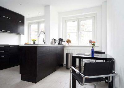 Die Raumobjekt Küche Black White
