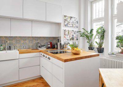 Küchenmöbel der Schreinerei Raumobjekt