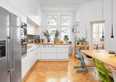 Küchendesign Traumküche mit Borakochfeld