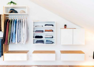 Schlafzimmer Schranksystem vom Schreiner